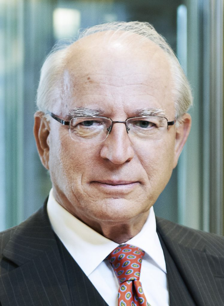 Dkfm. Dr. Claus Raidl, ehem. Präsident der Österreichischen Nationalbank