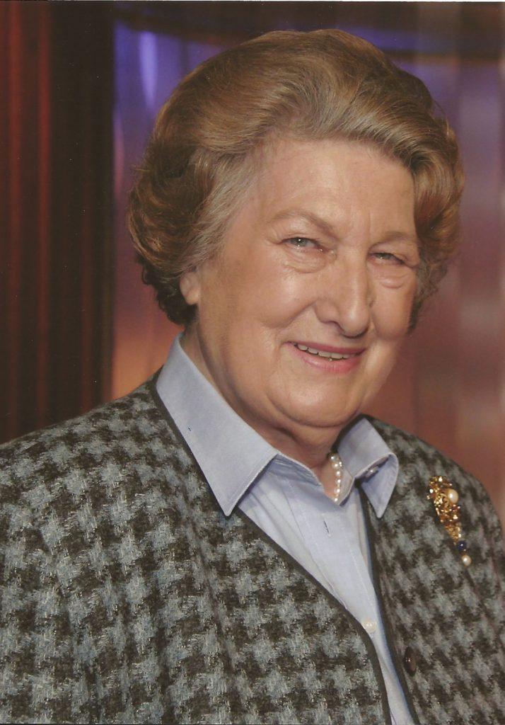 Dr. Maria Schaumayer †, Präsidentin der Österreichischen Nationalbank a. D.