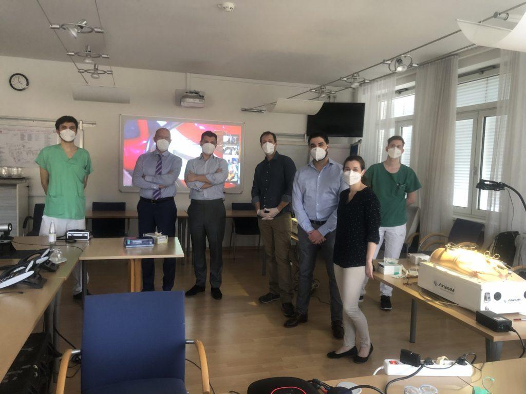 Remote Training – chirurgische Ausbildung in Zeiten der Pandemie –  Gefäßchirurgie Klinik Ottakring ist internationaler Pionier